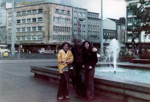 Berliner Platz im Herbst 1973